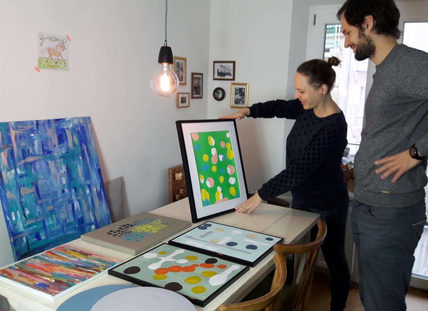 Räume gestalten mit Bildern-PIMPED BY HIPSTER HOME-