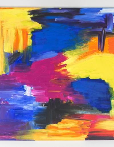 Acryl-Leinwandbild: Farbenpracht