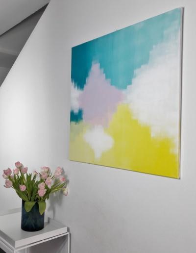 Acryl-Leinwandbild: Farben des Frühlings