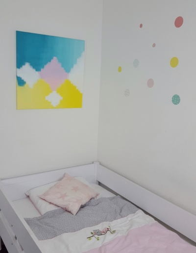 Acryl-Leinwandbild: Frühling_klein