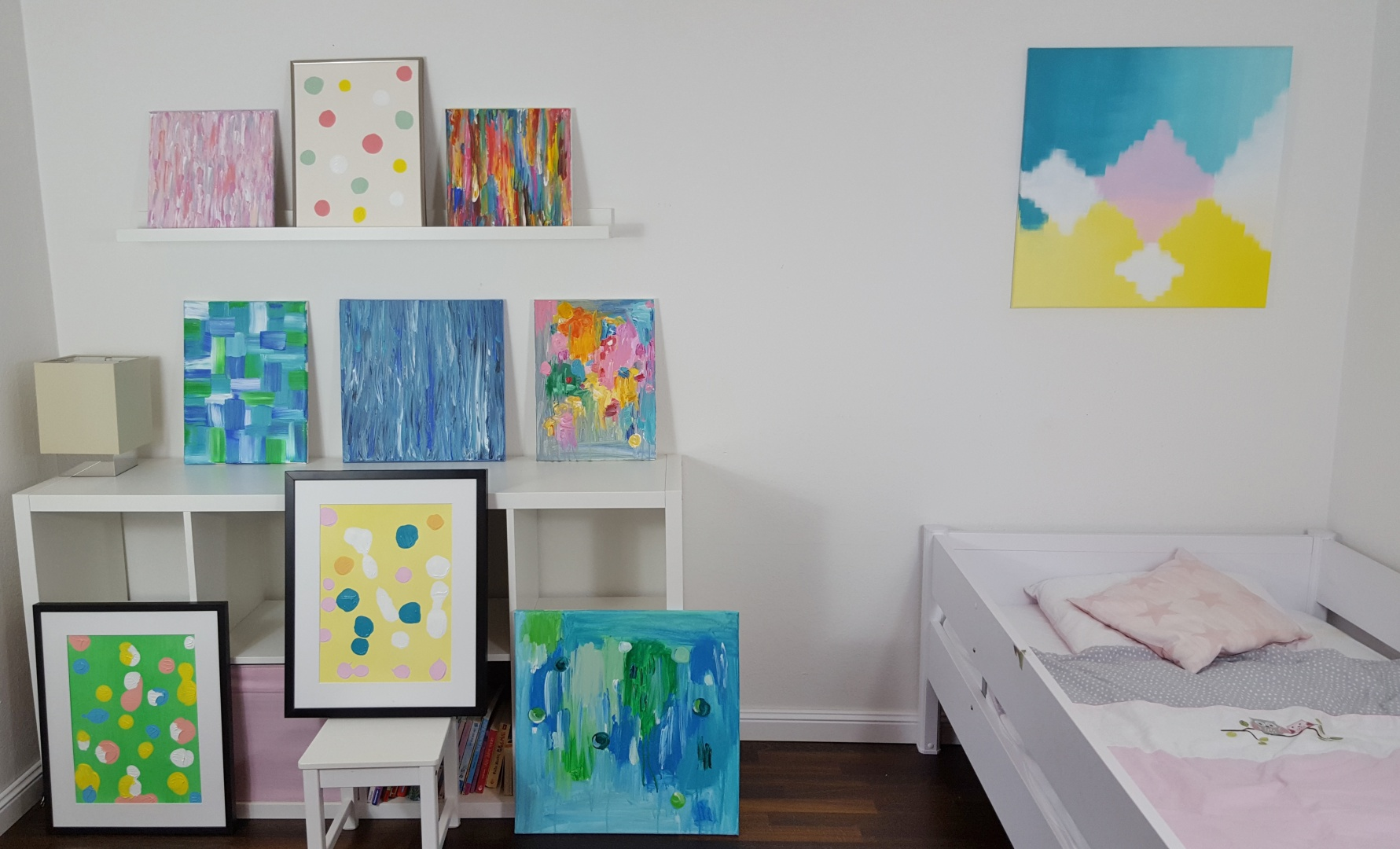 Kinderzimmer handgemalte wandbilder als deko jetzt bei hipster home - Kinder wandbilder ...
