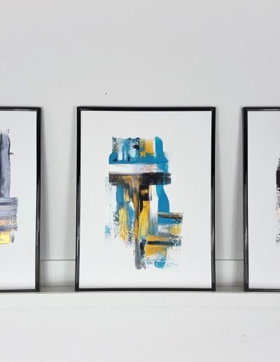 Acryl-Wandbild: Minimalistisch und individualisierbar