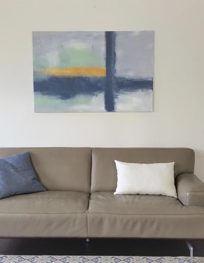 Acryl-Leinwandbild minimalistisch