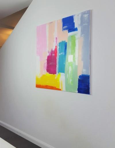 Acryl-Leinwandbild Caribbean Colours