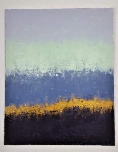 Acryl Leinwandbild Goldader