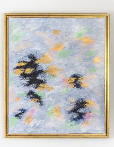 Acryl Leinwandbild Golden Birds